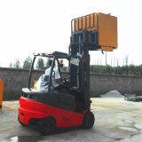Ancho-Vista a estrenar de 1.5-2 toneladas de China mini carretilla elevadora eléctrica de la batería del mástil del duplex de 4 contadores para el precio de venta