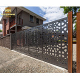Frontière de sécurité en aluminium d'intimité de garantie de jardin de décoration extérieure