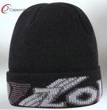 Neuer Entwurf gestrickter Beanie-Hut mit Baumwolle (6505909000)