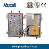 Récepteur optique extérieur de noeud de CATV Hfc Fttc FTTB