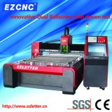 Machine de découpage duelle de commande numérique par ordinateur de tube en métal de boîte de vitesses de vis de bille d'Ezletter (GL1325)