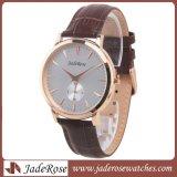 OEMの熱い販売の防水金属の水晶水晶腕時計