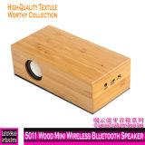 5011 Madeira Mini colunas Bluetooth sem fio