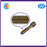 DIN/ANSI/BS/JIS kolen-staal/Cilinderkop Van roestvrij staal Tien het Krimpen de Verbinding van de Schroef van het Lood voor de Bouw van Brug