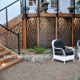 새로운 디자인 최신 정원 장식적인 알루미늄 관통되는 스크린