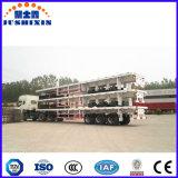 트랙터-트레일러 40 톤 3 반 Fuwa 차축 플래트홈 평상형 트레일러