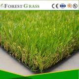 Новый дизайн искусственных травяных зеленый 3 тон пряжи