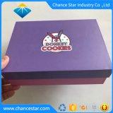 El papel impreso personalizado Comida de cartón Caja de galletas, tortas, Chocolate
