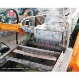 Pp.-PET-HDPE-LDPE-doppelter Stadiums-Extruder, der die Maschinen-Plastiktabletten herstellen Maschine aufbereitet