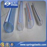 Boyau de jardin tressé de fibre durable de PVC d'Uper