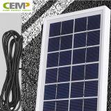 Panneau solaire 3W, 5W, 10W 20W 40W 80W de coût bas pour l'usage de ménage