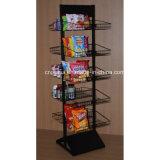 Chão de metal batatas fritas Exibir Rack (PHY1071F)
