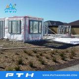 Casa prefabricada de acero del chalet de Eco del estilo moderno para la gente