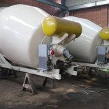 Carregamento automático de cimento móveis Betoneira Máquina para misturar
