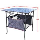 82*82*69 옥외 폴딩 알루미늄 합금 특별한 바베큐 테이블