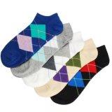 2018 nueva moda Plaid personalizada algodón Tobilleras para mujeres