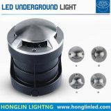 LEIDENE Zij In een nis gezet LEIDEN van de Lamp Inground 6W Ondergronds Licht