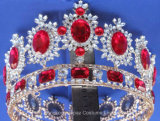 De Bruid van de Kroon van de tiara om Kroon van het Huwelijk van de Juwelen van de Kroon van de Decoratie van de Diamant van het Kristal de Europese Uitstekende Barokke (J01)