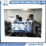 Verre à vitres plat personnalisé de miroir intelligent de salle de bains de 2mm