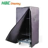 Alambre de acero pesado carro Logística Servicio de lavandería