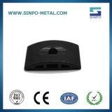 Алюминиевые детали оборудования с Anodization черного цвета
