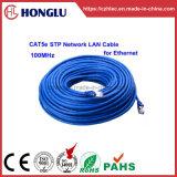 LAN van het Netwerk Cat5e STP van RoHS 1000Mbps Kabel voor Ethernet