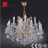 Lustre en cristal moderne avec décoration en verre wl-8141