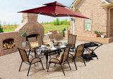 Patio extérieur / jardin /// en rotin Table aluminium HS715096adt