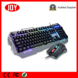 Rainbow USB подсветки Механические узлы и агрегаты игровой клавиатуры и мыши Combo