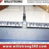 Comitato di alluminio del favo per il rivestimento della facciata del panino