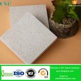 白い人工的な石造りの合成の水晶