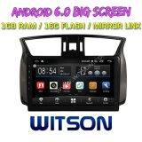 "Witson 10.2 "" 닛산 Sylphy 2012-2016년을%s Big Screen Android 6.0 Car DVD (뒤 사진기를 가진 차를 위한 Fit)"