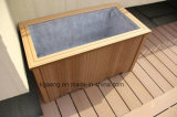 Le WPC Tablier Tablier de bois composite en plastique pour piscine en plein air-de-chaussée