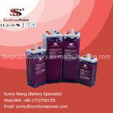 Batteries d'acide de plomb rechargeables noyées par plaque tubulaire de la batterie 2V 1200ah d'Opzs