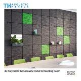 Comitato di parete della prova sana della fibra di poliestere della decorazione interna 3D/scheda acustici del soffitto