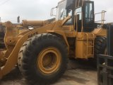 Chat utilisé 966f de chargeur de roue de tracteur à chenilles à vendre