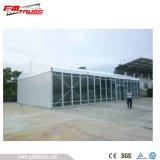25X70m Zelt für 1500 sitzend mit schönen Leuchtern