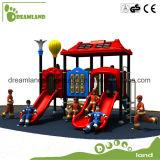 Campo da giuoco esterno della strumentazione della trasparenza di divertimento dei bambini