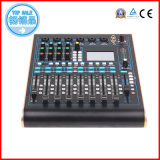 Audio Mixer met Input van 12 Kanalen, 6 Mic, 9X100mm Gemotoriseerde Faders, Touchscreen, iPad Controleerbaarheid