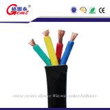 Rundes/flach versenkbares Kabel-Gummi Kurbelgehäuse-Belüftung isoliert