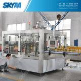 Máquina de enchimento Carbonated automática personalizada da água de soda da planta do refresco