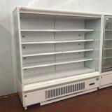 Supermercado Frigorífico legumes e frutas Exibir Multideck resfriador aberto