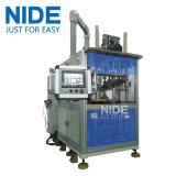 Enroulement de bobine de stator du poste de travail du moteur trois de générateur insérant la machine