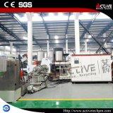 Máquina de la granulación de la fibra del animal doméstico con Agglomerator plástico