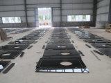 De zwarte Countertop van het Graniet van de Parel Countertop van de Keuken Bovenkant van de Staaf van Worktop