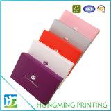 Caixa de embalagem de papel para a caixa da camisa do vestuário do roupa interior do sutiã