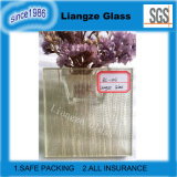 Décoration diaphane en verre de câble d'art avec le tissu pour la construction