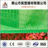 Groen van de Honingraat van het Polycarbonaat Hol van het Blad PC- Blad voor de Serre van de Landbouw en de Loods van het Fokken