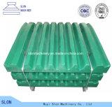 Исправленные части дробилки челюсти Metso C96 C100 C106 высокого качества запасные/Moving плита челюсти