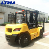 Ltma Forklift Diesel de 8 toneladas com o mastro 3-Stage